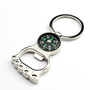 Compasses Compass Camping / Hiking Outdoor Exercise Camping / Hiking / Caving Traveling Trekking Metalic cm 1 pcs , silver