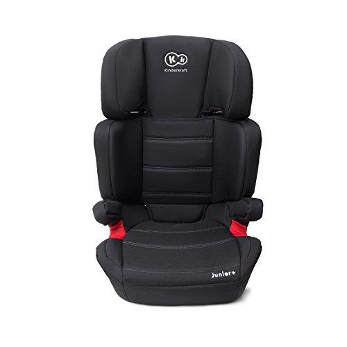 KinderKraft Junior Kinderautositz 15-36kg Autositz Kindersitz (Schwarz)
