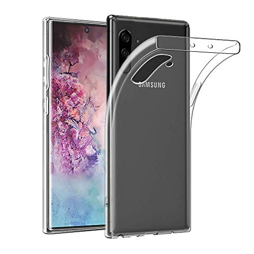 Dotuo Hülle für Samsung Galaxy Note 10,Clear Schutzhülle [Shock Absorption] [Anti Slip] weicher TPU-Gel-Stoßfänger Clear Schutzhülle für Kompatibel Mit Samsung Galaxy Note 10 Hülle -