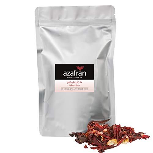 Azafran BIO Hibiskusblüten, Hibiskus ganz getrocknet, ideal als Hibiscus Tee 250g