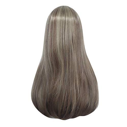 Ostergeschenk !!! Frau Pondkoo's langes glattes Haar gemischt Farbverlauf Hochtemperatur ()