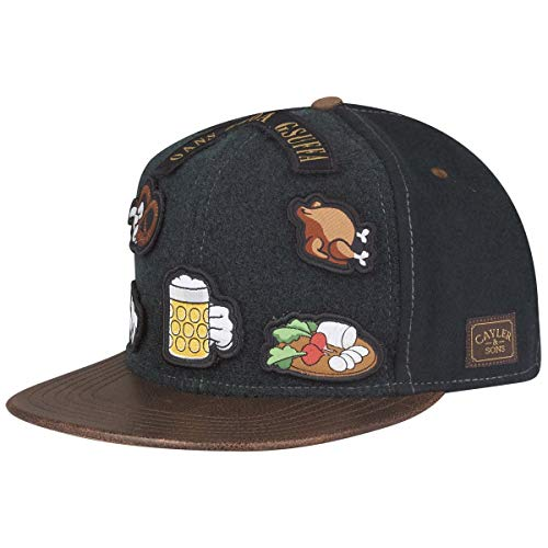 Cayler & Sons Snapback O BABT is Forest Green Brown, Size:ONE Size