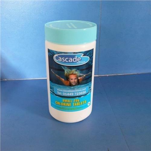 Schwimmbad-Chemikalien–1kg kleine Chlor Tabletten für Pools, Whirlpools und - Chlor Für Spa Tabs