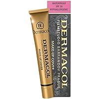 Dermacol NR 208 - Maquillaje cobertor resistente al agua e hipoalergénico, adecuado para todo tipo de pieles