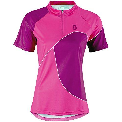 Scott Trail 50 Damen Fahrrad Trikot kurz pink/lila 2015: Größe: S (36/38)