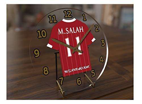 597fb44479b6b MyShirt123 MOHAMED SALAH 11 - LIVERPOOL FC FOOTBALL SHIRT CLOCK - FOOTBALL  LEGENDS LIMITED EDITION