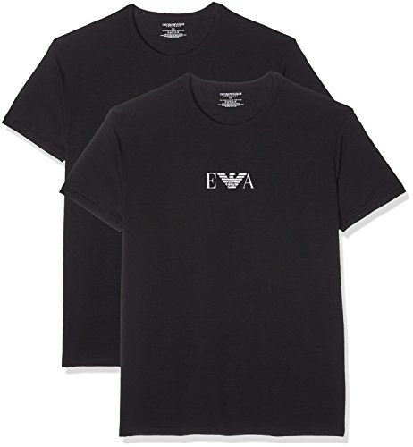 Emporio Armani Men's Short Sleeve T-Shirt (Pack of 2)