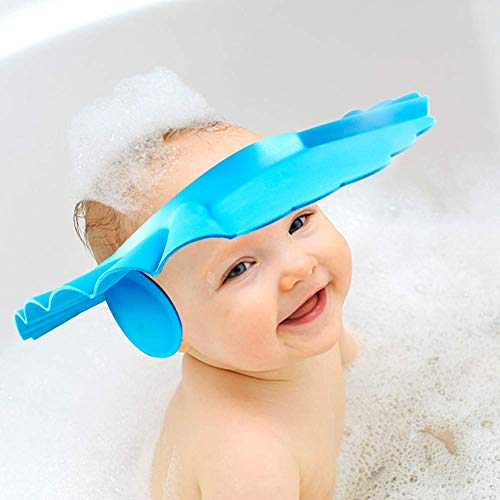 Baby New Soft Hat Bathing Wash Hair Shield Shower Cap