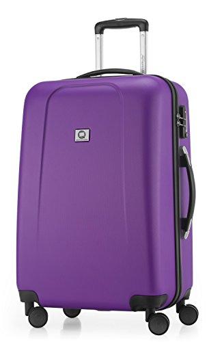 HAUPTSTADTKOFFER - Wedding - Hartschalen-Koffer Koffer Trolley Rollkoffer Reisekoffer Spinner, 4 Rollen, TSA, 65 cm, 67 Liter, violett