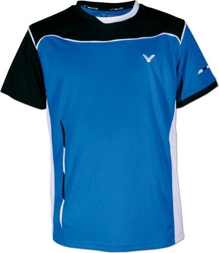 VICTOR Poloshirt Function Blau/Schwarz/Weiß