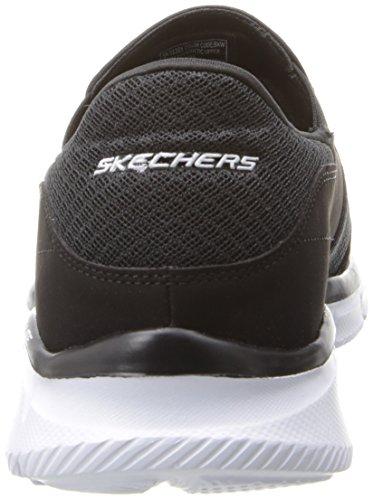 Skechers EqualizerPersistent Herren Sneakers Schwarz (Bkw)