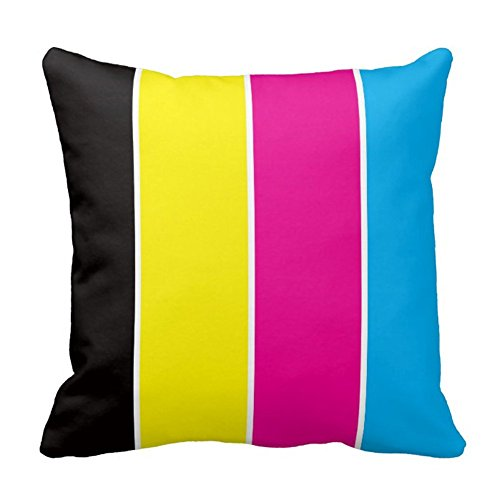 Rainbow Bedroom Pillow Cover Decorative Pillow Case Cushion Cover ()