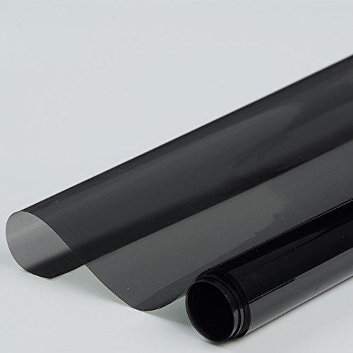 Fenster 35 Schatten (HOHO Nano Keramik Solar Film Tönungsfolie VLT 35% für Auto Seite Rückseite Fenster 152,4cm x98ft Rolle)
