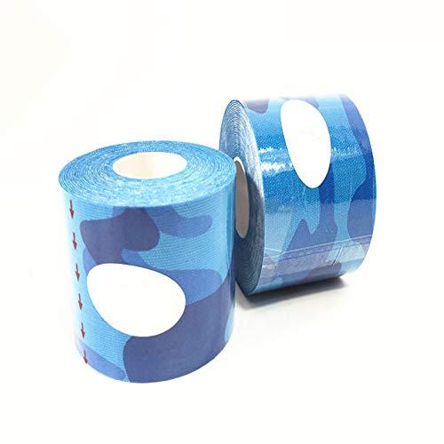Delleu Bandage-Wraps-Selbstklebende Wraps,Selbstklebende Gaze-Rolle,zusammenhängendes Band,medizinisches Klebeband, Erste-Hilfe-Zubehör für Sport,Handgelenk,Knöchel