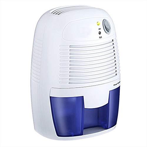 ZXX Elektrische Mini-Luftentfeuchter, kompakt und tragbar für hohe Luftfeuchtigkeit in Haus, Küche, Schlafzimmer, Bad, Keller, Wohnwagen, Büro, Wohnmobil, Garage