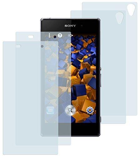mumbi Schutzfolie kompatibel mit Sony Xperia Z1 Folie klar, Bildschirmschutzfolie (4x)