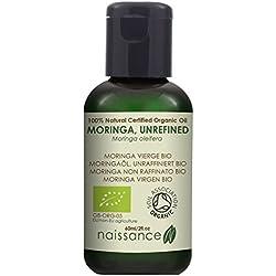 Naissance Moringa Virgen BIO - Aceite Vegetal Prensado en Frío 100% Puro - 60ml