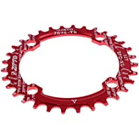 MagiDeal Plato de Bicicleta 32T 104mm CBD 104mm 4 Pernos Cadena Único Bicicleta de Montaña Ciclismo - Rojo