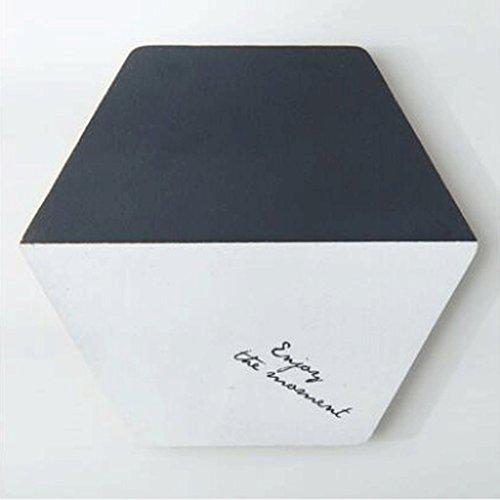 Dessous de verre ZLR Coussins de liège créatifs Anti-Hot Pot Pad Matelas Pendule Bol Douche Coaster Isolation Pad Style Européen (Couleur : D)