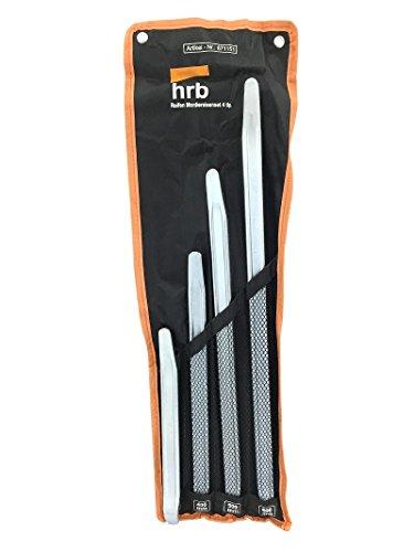 HRB Profi Montiereisen, Montierhebel, verschiedene Größen 300-600 mm oder als 4tlg. Set (4tlg. Montiereisen Set 300-600mm)