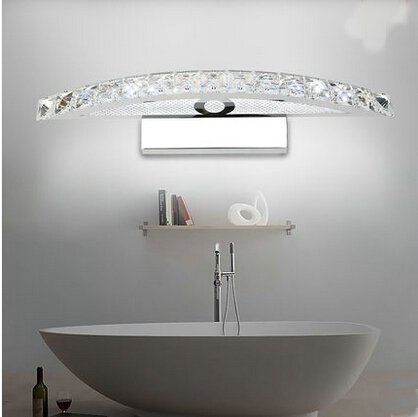 SJMM LED crystal mirror Light 10W 440MM lamps and steel