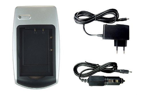 Ladegerät für Praktica DCZ 8.3, DCZ 10.4, Luxmedia 12-XS