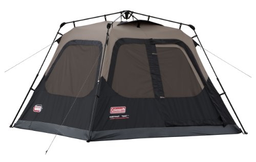 Coleman Instant 4 Tent, 8ft x 7ft (Brown/Black)