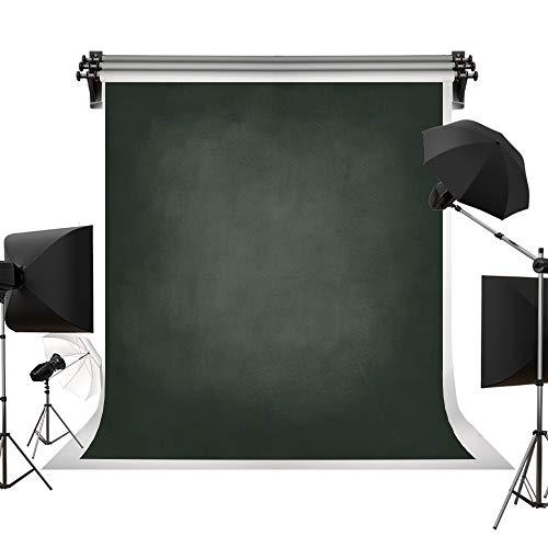 Kate schwarz Foto Hintergrund klappbar Retro Solid Farbe Hintergrund für Fotografie für Neugeborene Familie Stuio Shooting 6,5 x 6.5ft/2 x 2 m