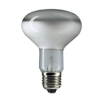 10 x 60WATT R80 PEARL REFLECTOR LAMP BULB ES SPOTLIGHT SCREW CAP