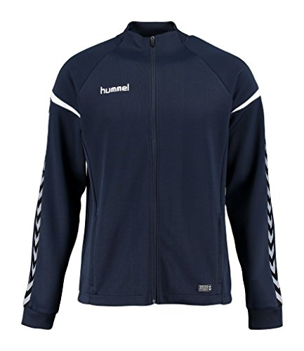 Hummel Auth. Charge Poly Zip Jacket-Total Eclipse, nero, XL