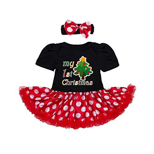 AFCITY Halloween Kostüm, Weihnachtskostüm Overall Set 0-24 Monate -