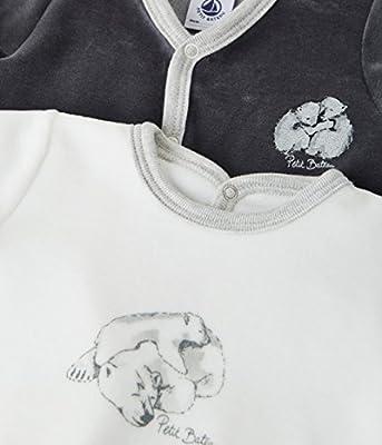 Petit Bateau Lot Luck Conjuntos de Pijama, Unisex Bebé