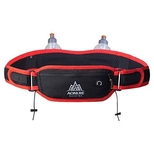 LNLZmit Taschen, männer und Frauen, wasserkocher, Fitness - Fahrrad - Pack, körper eng diebstahlsicherung Marathon Mobile Brieftasche,Rot - rot,Y01