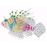 Oggetti Decorazioni Acquario Pesce finto Silicone Color aleatorio