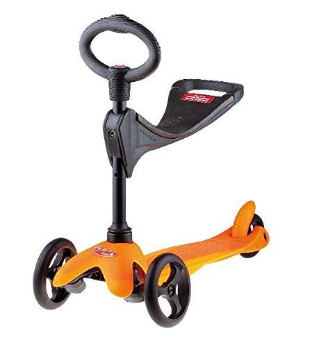 Micro Mini Micro 3in1 Roller Scooter mit Sitz orange Neu