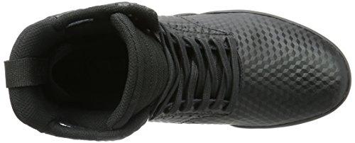 Supra Skytop Iv, Baskets Homme - Noir (black / Red - Black  Bkr), 45 EU Noir - Schwarz (BLACK - BLACK 001)