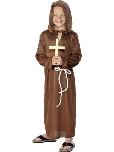 Kostüm Mönch Mönchkostüm Mönchskostüm Kinder 9-12 Jahre- Top Qualität - Top Preis - Blitzversand (Top 10 Kinder Kostüme)