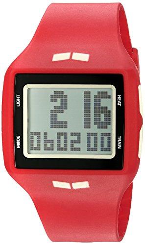 Vestal Unisex HLMDP25 Helm Digital Display Quartz Red Watch