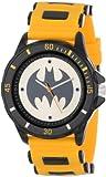 Batman BAT9065 Herren-Armbanduhr, analog, Gummi, Gelb