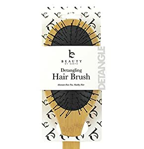 Detangling Brush; Wet or Dry Hair for Professional Style and No Pain Glide Thru Detangler; Best for Thin, Fine, Thick, Long or Curly Locks to Detangle and Smooth Knots Easily for Men, Women and Kids