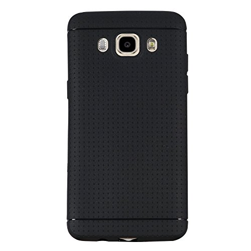 Shop Buzz Soft Silicone Dotted Design Back Cover For Samsung Z2 (BLACK) - For Samsung Z2 (2016)- Black