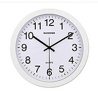 Wghz European creative watch, round quartz watches with quartz watch and silent wall plates (color: C)