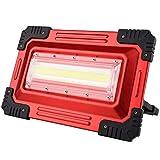 Aufladung Flutlicht,Stand Beleuchtet Tragbare Im Freien Kampierende Scheinwerfer Notausgangsbeleuchtung, Die Super Hell Lädt (Farbe : A)