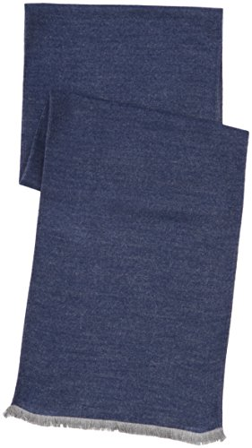 MLT Belts & Accessoires Detroit, Echarpe Homme Bleu (Navy 1200)