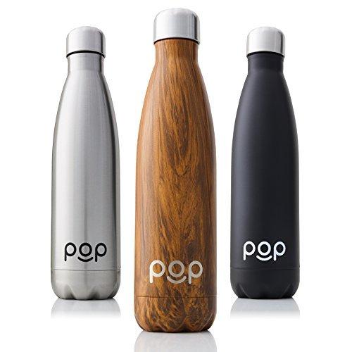 POP Design Bottiglia per Acqua Mantiene Il Freddo per 24 Ore e...