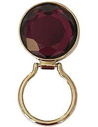 Joli clip magnétique très utile, pour les lunettes de soleil, de vue, de lecture ou pour badges d'identification, violet