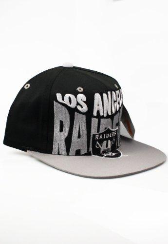 Vintage-Los-Angeles-LA-Raiders-Snapback-Kappe-Mtze