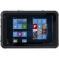 Caterpillar T20 Robustes Outdoor Tablet, 20,3 cm (8 Zoll) IPS LCD Display (64GB, Intel Z 8350 Quadcore, 2GB RAM, Windows 10 Home), IP67 (staub- und wasserfest), sturzsicher, Schwarz