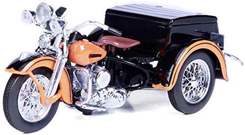 KaKaDz Wei KKD 01:18 Tre Ruote Moto Modello di Simulazione Lega Model Car Arancione Restore Car Reale Impossibile Raccogliere i Regali di Modello dell'automobile Veicoli Modello S
