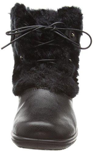 Padders Kim, Bottines à doublure chaude femme Noir - Noir